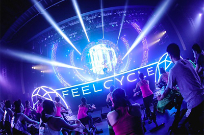 FEELCYCLE LIVE LUSTER 2017